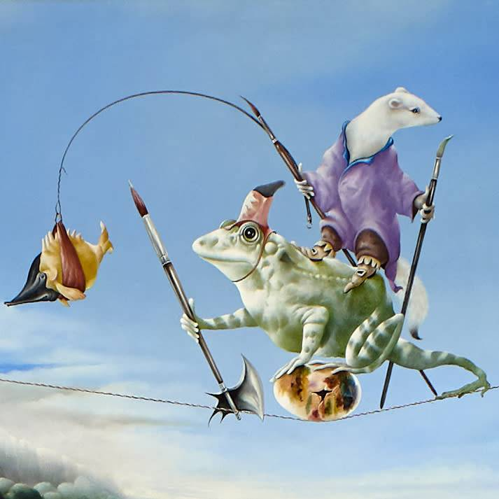 Eugene Peters Eugene Peters - De bewaking van het schilderij-ei