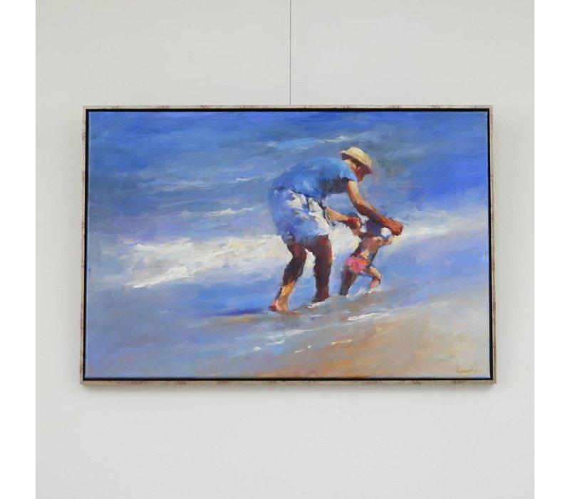 Dinie Boogaart - Leren lopen aan zee