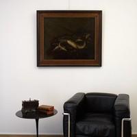 Pieter van Noort: Stilleven met vissen