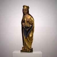 Maria met kroon