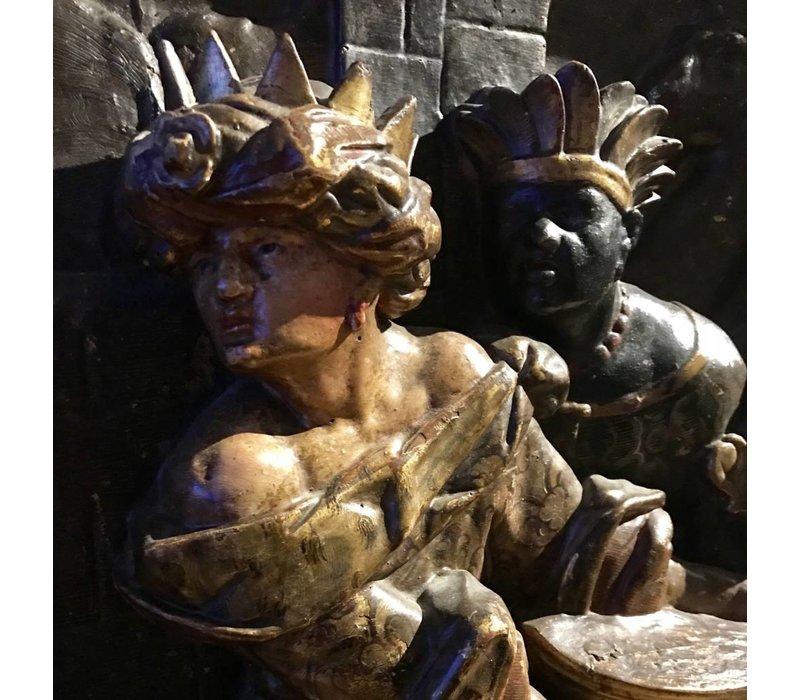 Reliëf van de drie Wijzen uit het Oosten