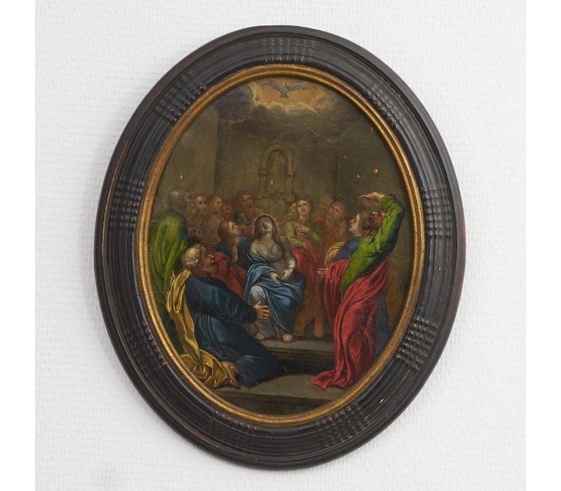 Schilderij Pinksteren 17e eeuw