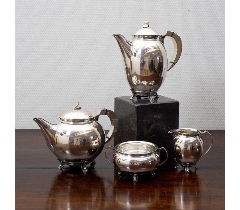 4 delig zilver set Holm 1936