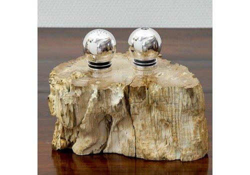 Zilver peper- en zoutstel Georg Jensen