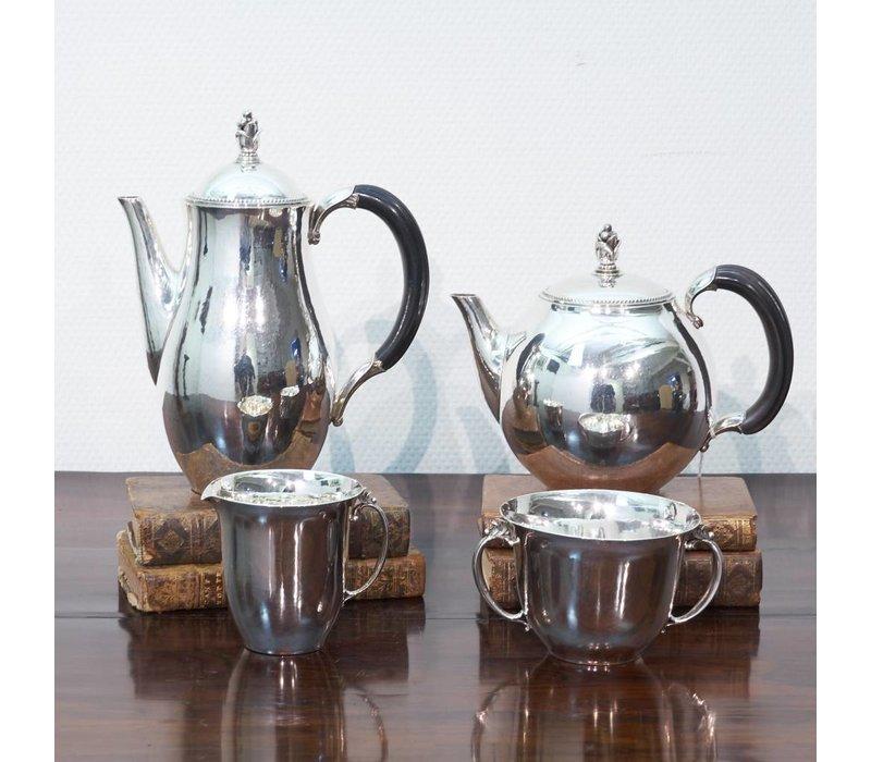 4 delig Georg Jensen koffie-theeset 1935