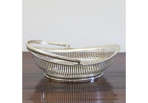Zilveren broodmandje Schoonhoven 1924