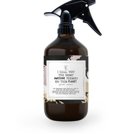 The Gift Label The Gift Label Roomspray Awesome Fresh Cotton