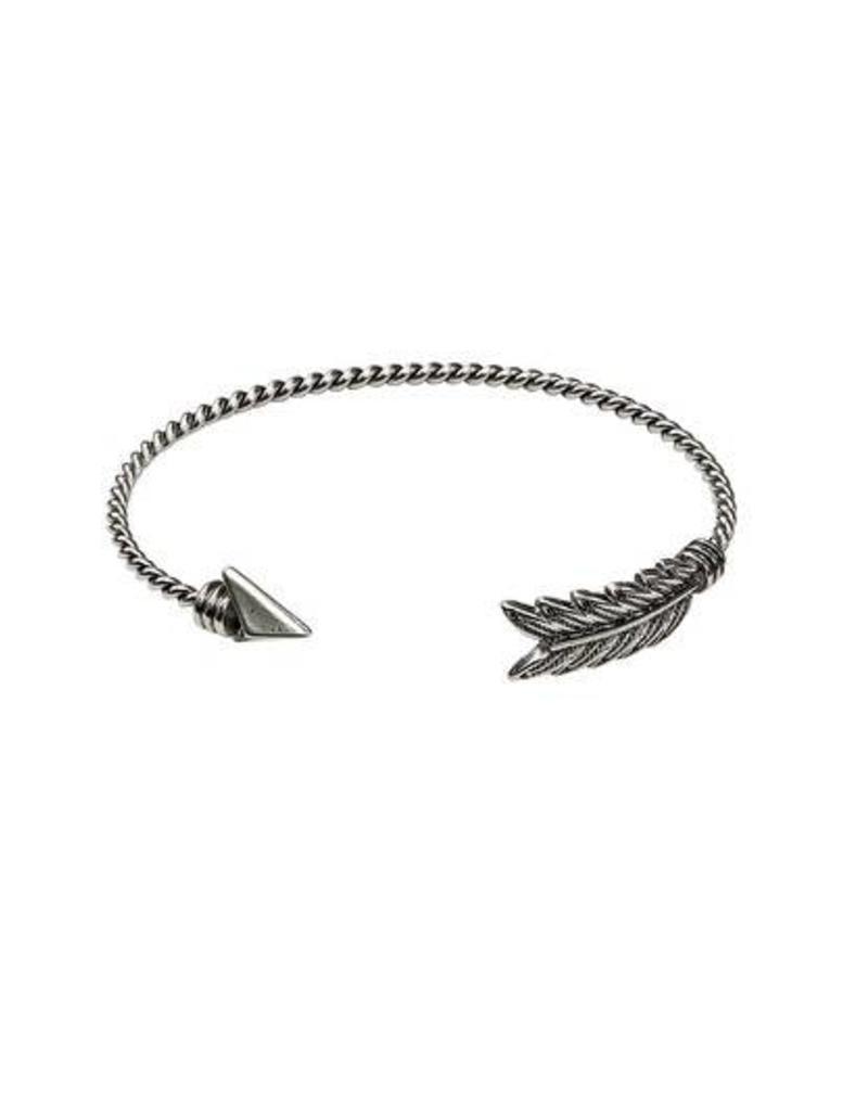 Bulu Bulu Panah Bracelt Silver