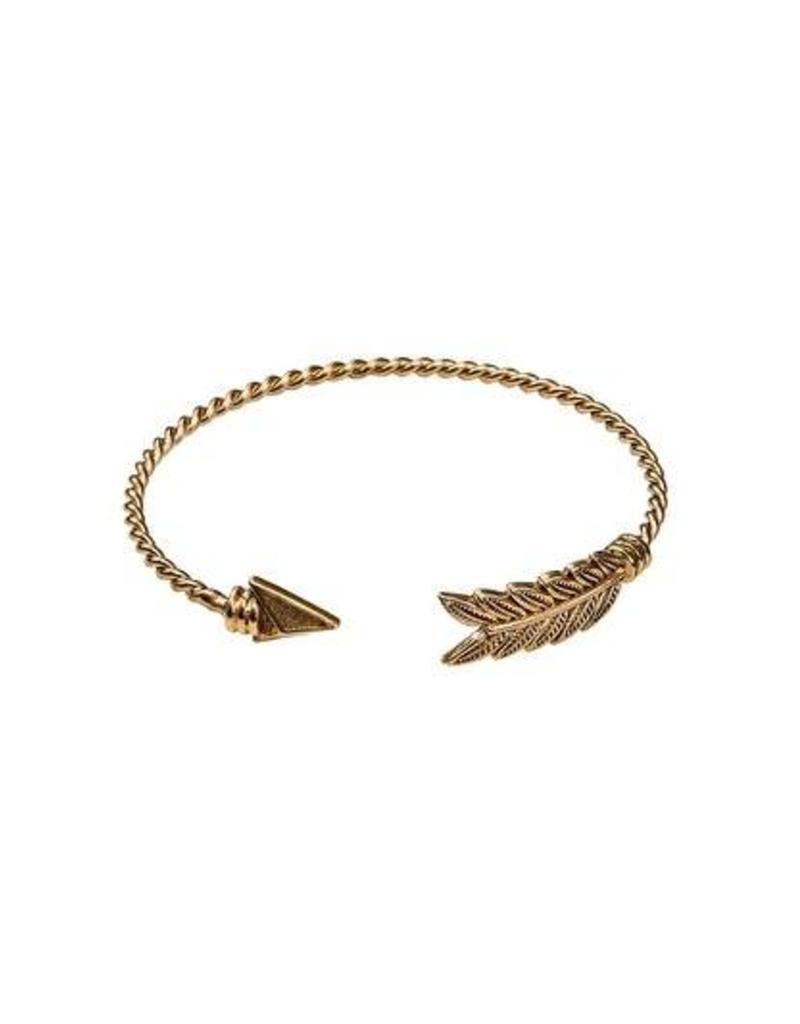 Bulu Bulu Panah Bracelet Gold