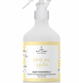 The Gift Label The Gift Label Baby Roomspray Way too