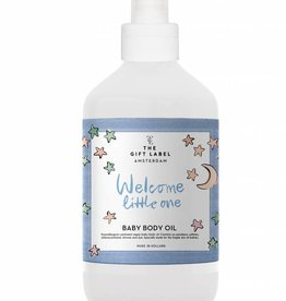 The Gift Label The Gift Label Baby Oil Welcome