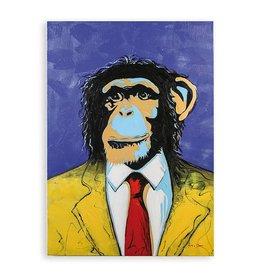 Olieverfschilderij Monkey