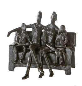"Design sculptuur ""Sitting Family"""