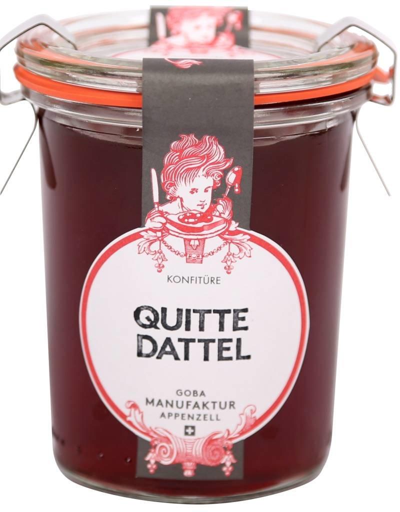 GOBA  Manufraktur  Quitte Dattel Konfi