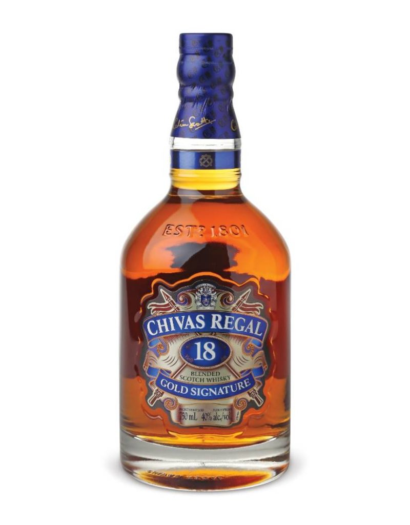 Chivas Regal 18 Jahre Gold Signature Blended Scotch Whisky