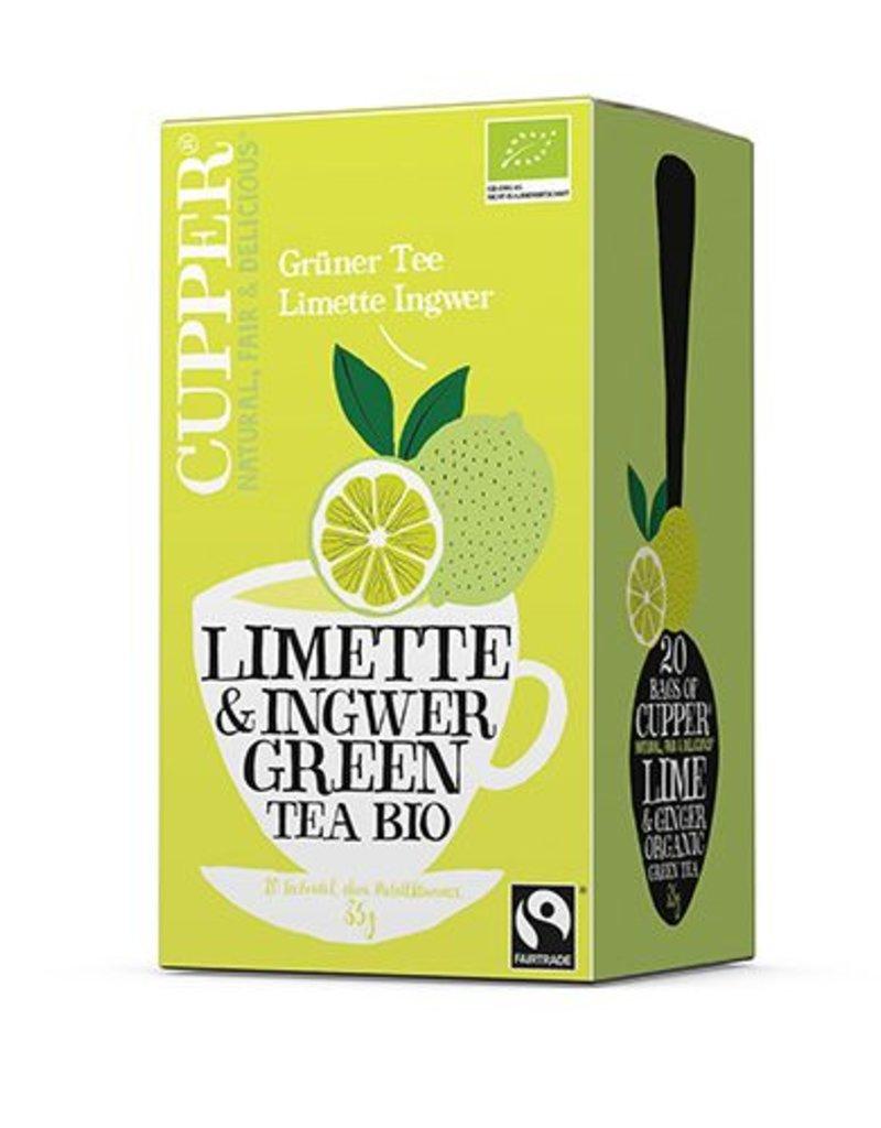 Cupper Tea CUPPER Grüner Tee Limette & Ingwer