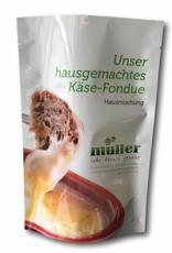 müller - lebe deinen genuss  Hausgemachtes Käse-Fondue für 2 Personen