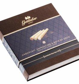 Gottlieber Hüppen Gottlieber Premium Chocolait mit Cappuccino, Noix de Coco