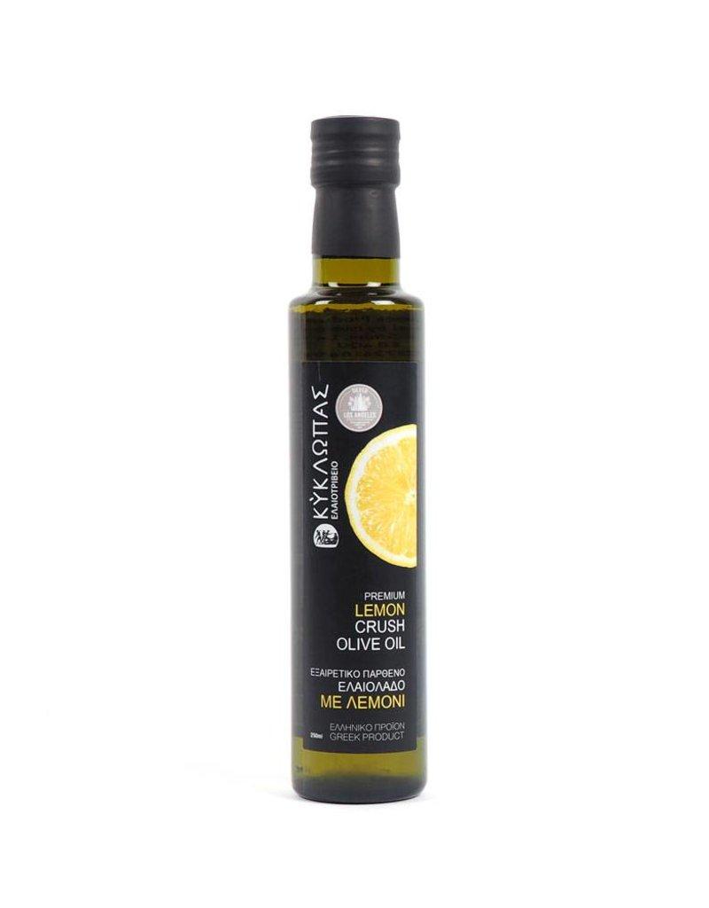Kyklopas Extra Olivenöl mit Zitrone