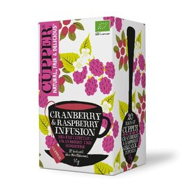Cupper Tea CUPPER CRANBERRY & RASPBERRY INFUSION