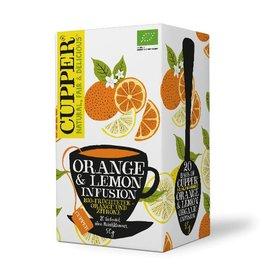 Cupper Tea CUPPER  ORANGE & LEMON INFUSION