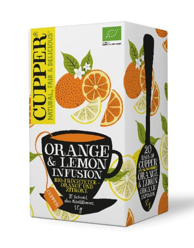 Cupper Tea CUPPER ORANGE & LEMON INFUSION