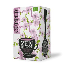 Cupper Tea CUPPER ZEN BALANCE Zitronengras und Eukalyptusblätter