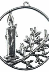 DTR Kersthanger krans met kaars