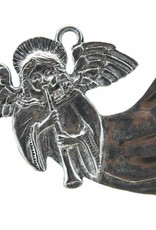 DTR Kersthanger vliegende engel met schalmei