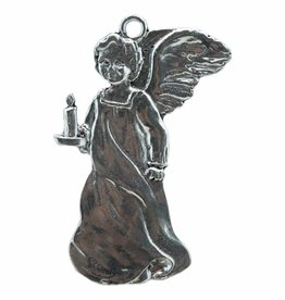 DTR Hanging ornament angel with candle