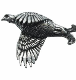 DTR Black Grouse. Clutch Pin With Pewter Image