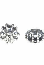 Vierdaagse Bedel 4 day cross charm (silver)