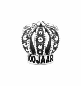 Vierdaagse Bedel Crown 100 years charm (silver)