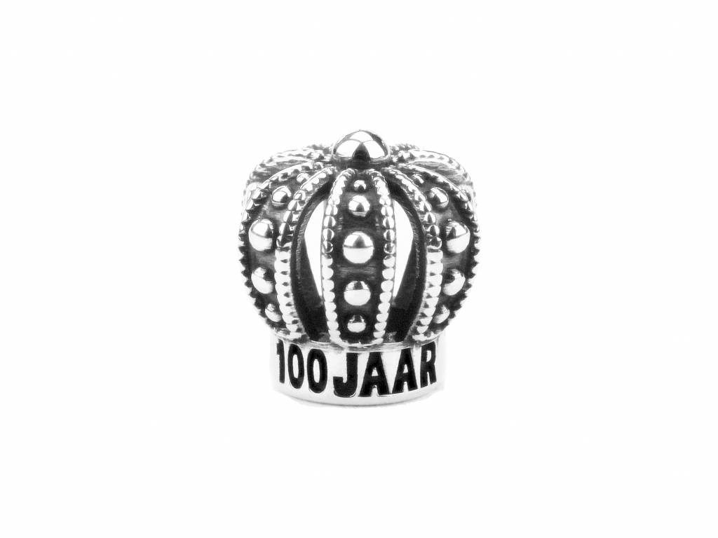 Vierdaagse Bedel Crown 100 years charm (silver)