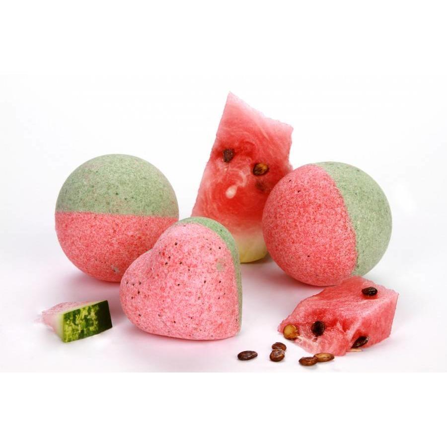 HandgefertigtenBade Bomben - Wassermelone-1