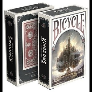 Bicycle Kingdoms (Red)