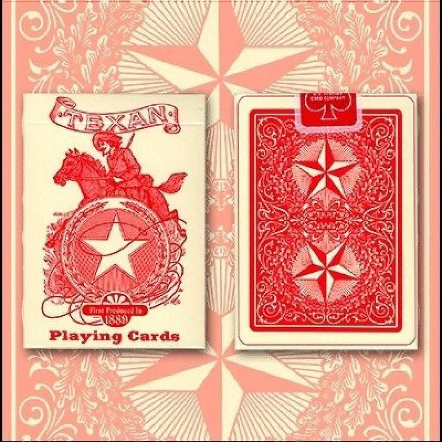 Texan Playing Cards Deck 1889 (Limited Quantity)-1