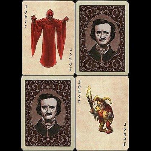 Bicycle Edgar Allan Poe Playing Cards
