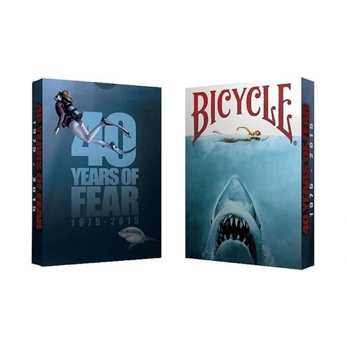 Bicycle 40 Years of Fear Jaws Playing Card - Crooked Kings