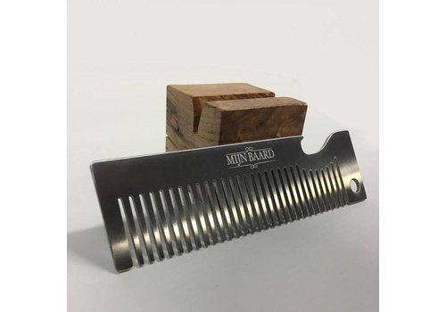 Novus Fumus Metal Beard Comb