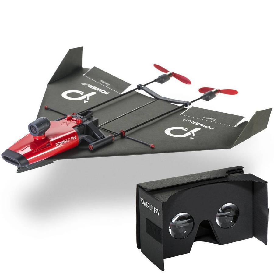 FPV. Papieren vliegtuig met Wifi camera-2