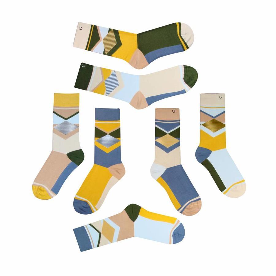 Verschiedene aber passende Socken