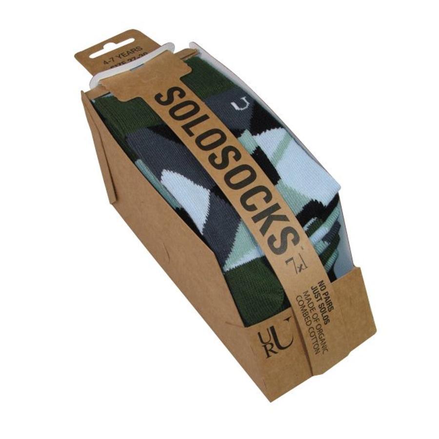 Verschiedene aber passende Socken in anständiges Silber, Azurblau und grün Nuancen.-3