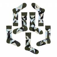 thumb-Verschiedene aber passende Socken in anständiges Silber, Azurblau und grün Nuancen.-1