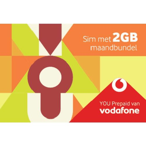 Vodafone You Prepaid Sim 2 Gb Maandbundel