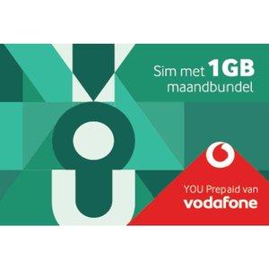 Vodafone You Prepaid Sim 1 Gb Maandbundel