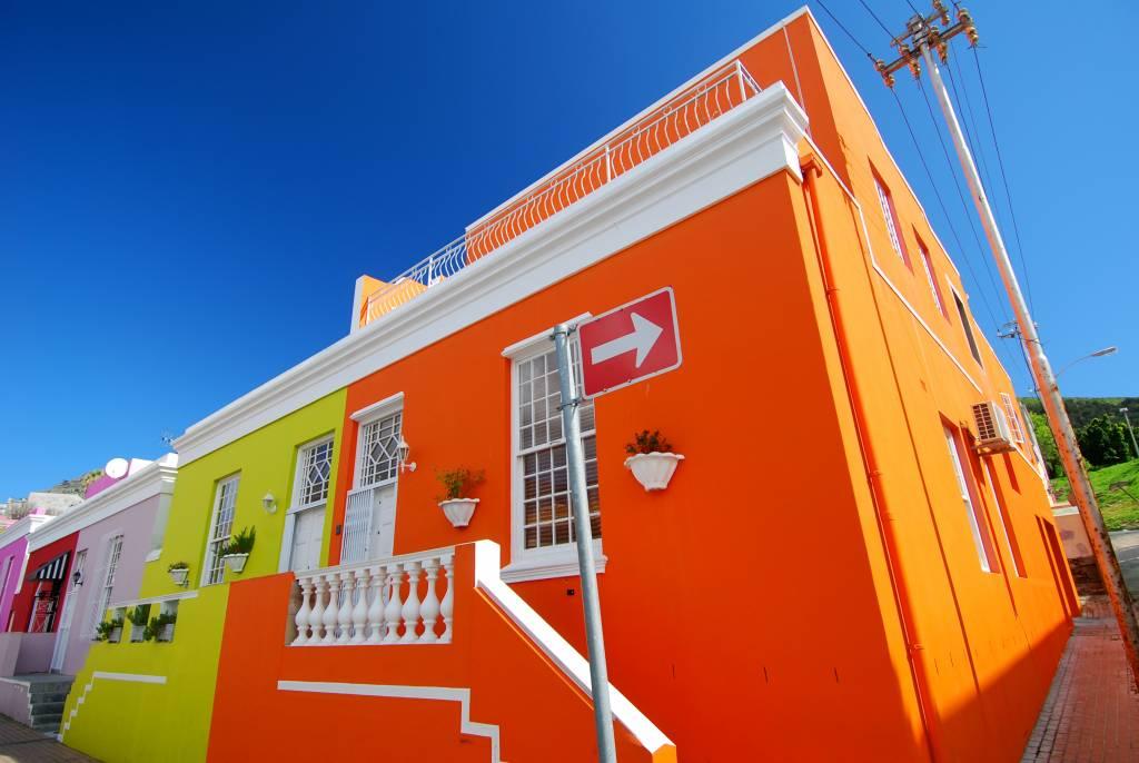 Sieben farbenreiche Orte in der Welt