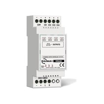 Velbus VMB4DC 4-Kanaals 0 tot 10V Controller