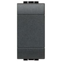 Living light blindplaat 1 modules, antraciet