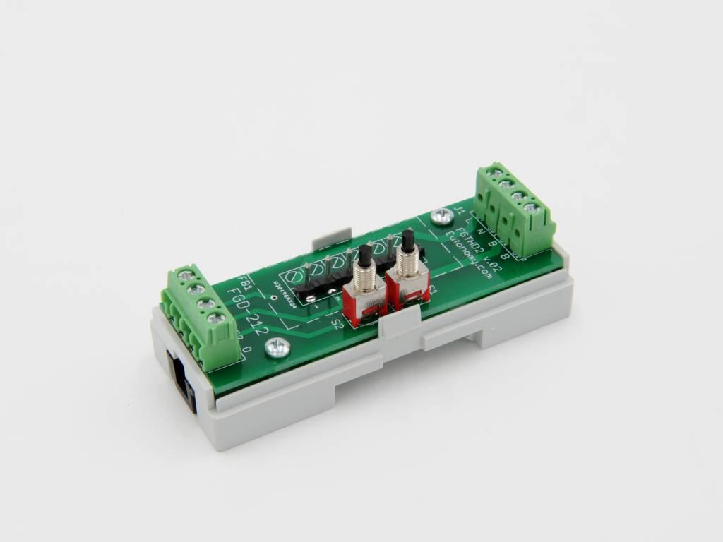 Din Rail Kast : Dinrail module voor fibaro fgs single switch my smarthome be